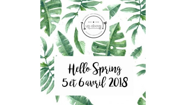 Hello Spring : vente privée Up Above les 5 et 6 avril